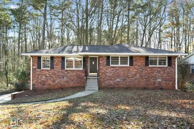 Tucker Single Family Home New: 4135 Hideaway Dr