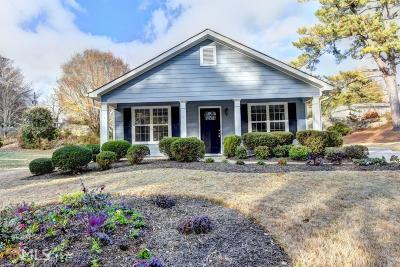 Roswell Single Family Home Under Contract: 290 Jones Dr