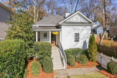 Grant Park Single Family Home Under Contract: 326 Ormond St