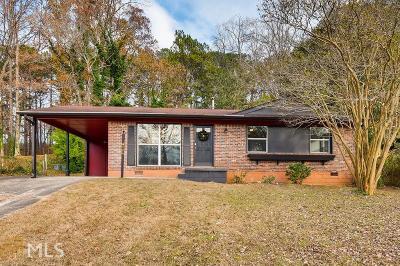 Clayton County Single Family Home New: 4564 Ryan Road