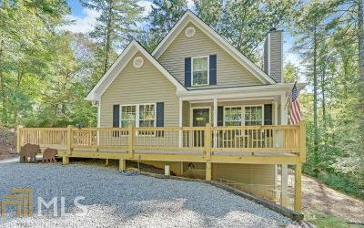 Ellijay Single Family Home Under Contract: 931 Fir Ln #EM3612