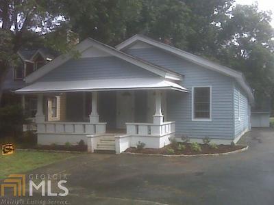 East Point Single Family Home New: 1312 Mercer Ave