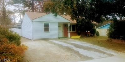 Clayton County Single Family Home New: 5277 Sharon St