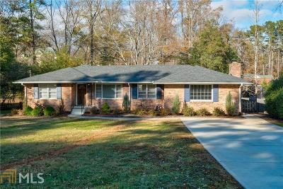 Atlanta Single Family Home New: 2081 S Akin Dr