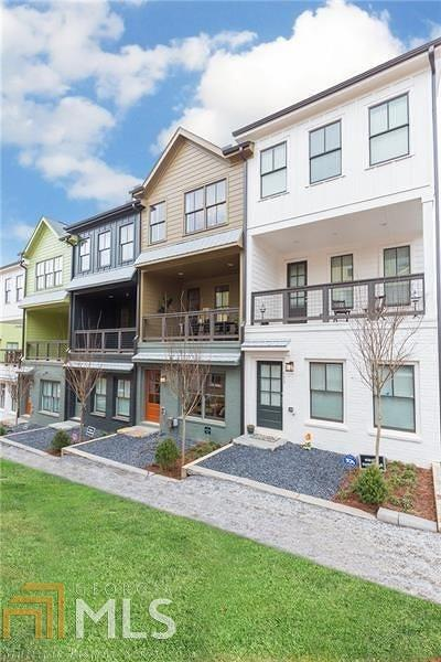 Fulton County Condo/Townhouse New: 780 Cady Way