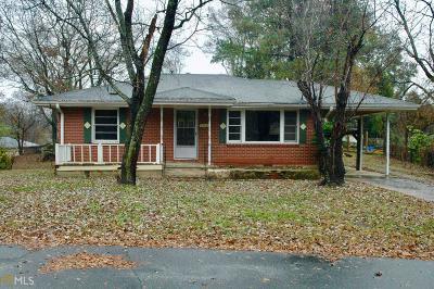 Marietta Single Family Home New: 1552 SE Cloverdale Cir