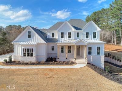 Fulton County Single Family Home Under Contract: 16050 Freemanville Road