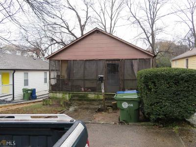 Fulton County Multi Family Home New: 995 Wylie St