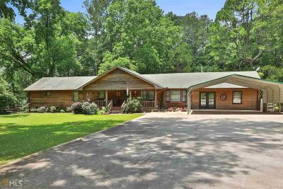 Heard County Single Family Home Under Contract: 7070 Charlie B Johnston Rd