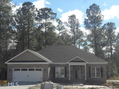 Statesboro Single Family Home New: 406 Tradewind Trl #24