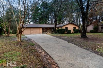 Acworth Single Family Home New: 2563 Valley Hill Dr