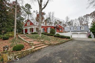 Atlanta Single Family Home New: 1530 Sunnybrook Farm Rd