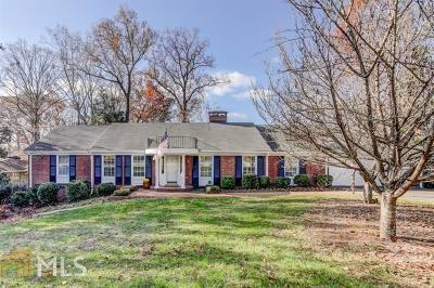 Sandy Springs Single Family Home New: 4790 Brinkley Ln