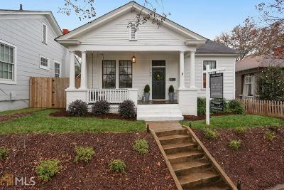 Atlanta Single Family Home New: 749 Wylie St