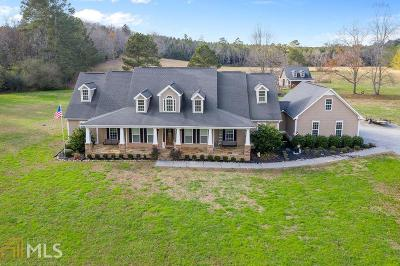 Bartow County Single Family Home Under Contract: 460 Iron Hill Rd