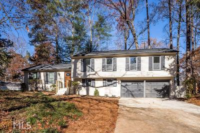 Cobb County Single Family Home New: 392 Lamplighter Ln
