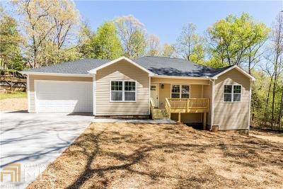 Dawsonville Single Family Home New: 250 Emmett Drive