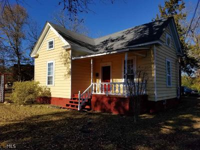 Barnesville Single Family Home Back On Market: 119 Lamar St