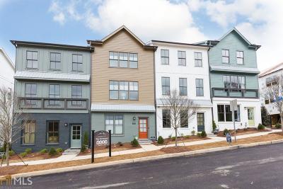Atlanta Condo/Townhouse New: 751 Hamilton Circle #6