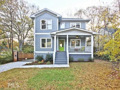 Atlanta Single Family Home Under Contract: 910 Stallings Ave