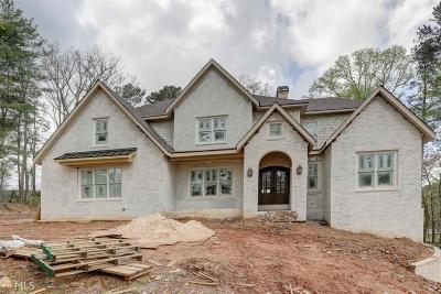 Atlanta Single Family Home New: 6526 Cherry Tree Ln