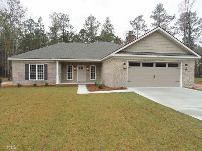 Statesboro Single Family Home New: 135 Weatherstone Way