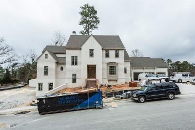 Atlanta Single Family Home New: 1000 Battle Creek Way