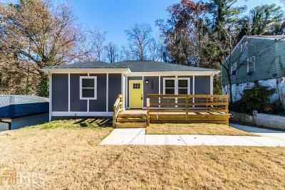 Fulton County Single Family Home New: 1258 Westmont Rd