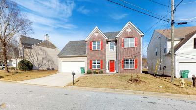 Dekalb County Single Family Home New: 3598 Walnut Creek Way