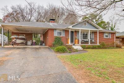 Smyrna Single Family Home Under Contract: 444 Alcott Dr