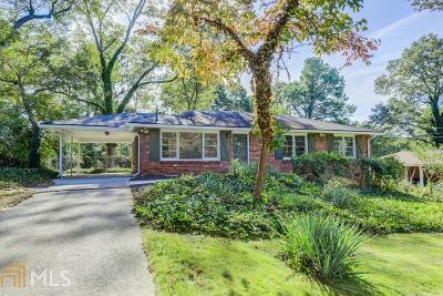 Dekalb County Single Family Home New: 1099 Clydedale Drive
