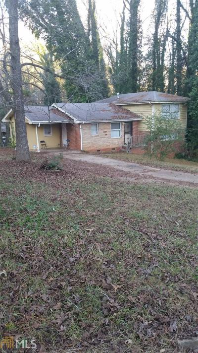 Decatur Single Family Home New: 3436 Misty Valley Rd