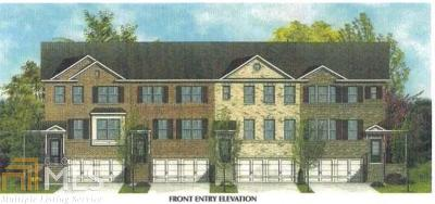Gwinnett County Condo/Townhouse New: 781 Sunset Park Dr