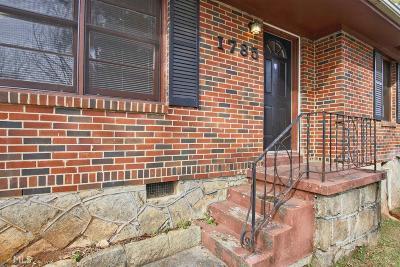 Decatur Single Family Home New: 1785 Danrich Dr