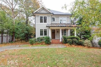 Atlanta Single Family Home New: 2863 Elliott Cir