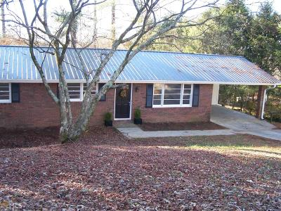 Habersham County Single Family Home Under Contract: 269 Sherwood Dr #7
