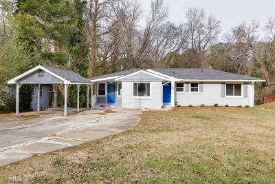 Decatur Single Family Home New: 3226 Robin Rd