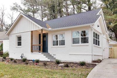 Atlanta Single Family Home New: 1927 S Gordon