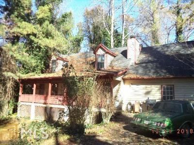 Lithonia GA Single Family Home New: $105,000