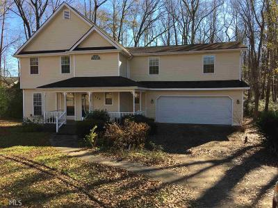 Griffin Single Family Home New: 128 Carriage Trc