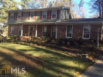 Atlanta Single Family Home New: 3850 SW Thaxton Rd