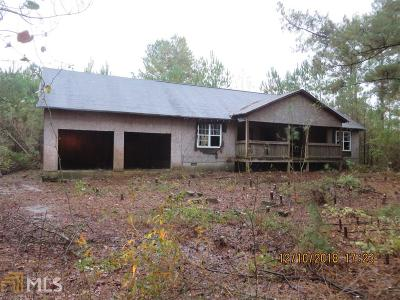 Senoia Single Family Home New: 161 Glazier Rd