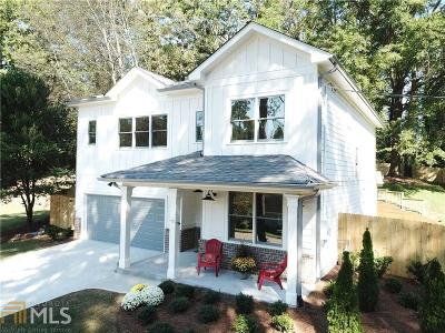 Atlanta Single Family Home Under Contract: 2590 E Tupelo St