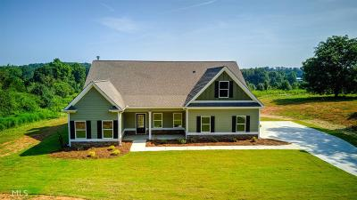 Winder Single Family Home New: 1006 Cooks Rd