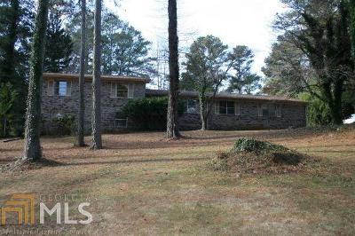 Fulton County Single Family Home New: 824 Niskey Lake Cir