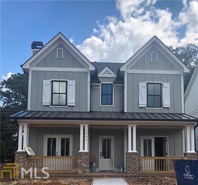 Atlanta Single Family Home New: 1933 Park Chase Ln