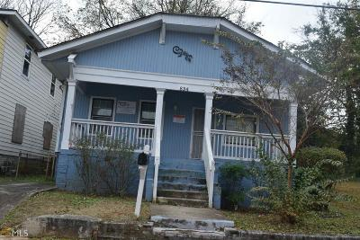 Atlanta Single Family Home New: 834 Drummond St SW