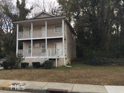 Atlanta Single Family Home New: 898 T P Burruss Sr Dr SW