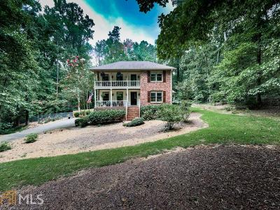 Roswell Single Family Home Under Contract: 390 Waverly Hall Cir