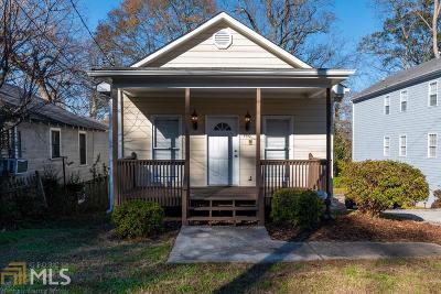 Atlanta Single Family Home New: 126 Vanira Avenue SE
